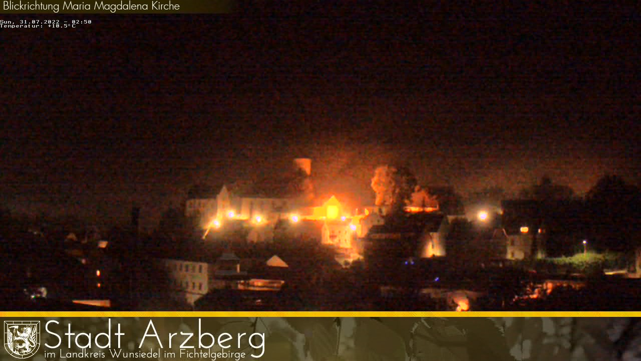 Arzberg (Bavaria) City Center, Maria Magdalena Church